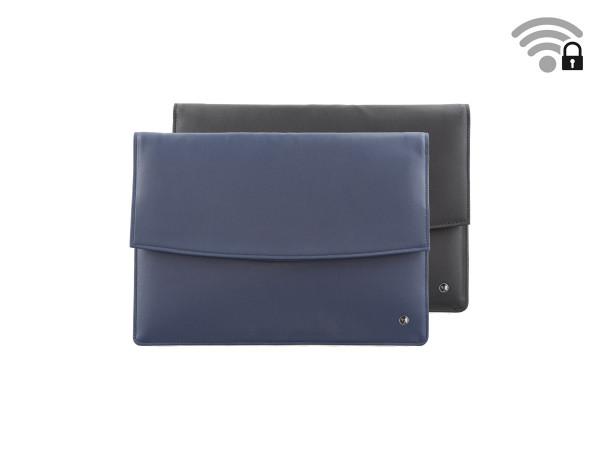 Funkstille Tablet - spionagesichere Tablet-Tasche - Leder